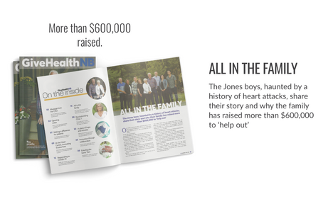 Cover story GiveHealth Magazine Fall 2020