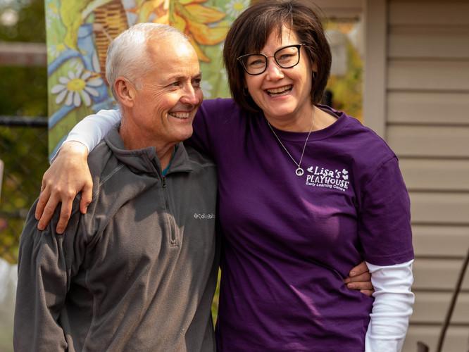 Seamus and Lisa