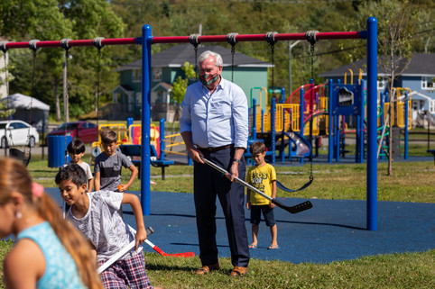 Liberal Leader Kevin Vickers