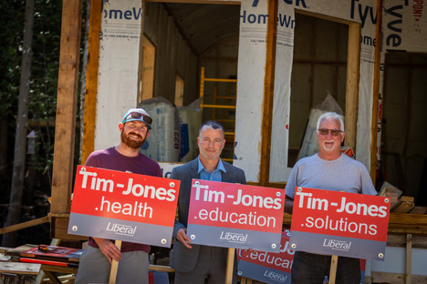 Need a sign. Vote for Tim.