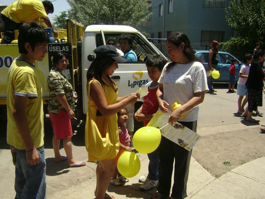 Campaña Cambiate al Amarillo Lipigas