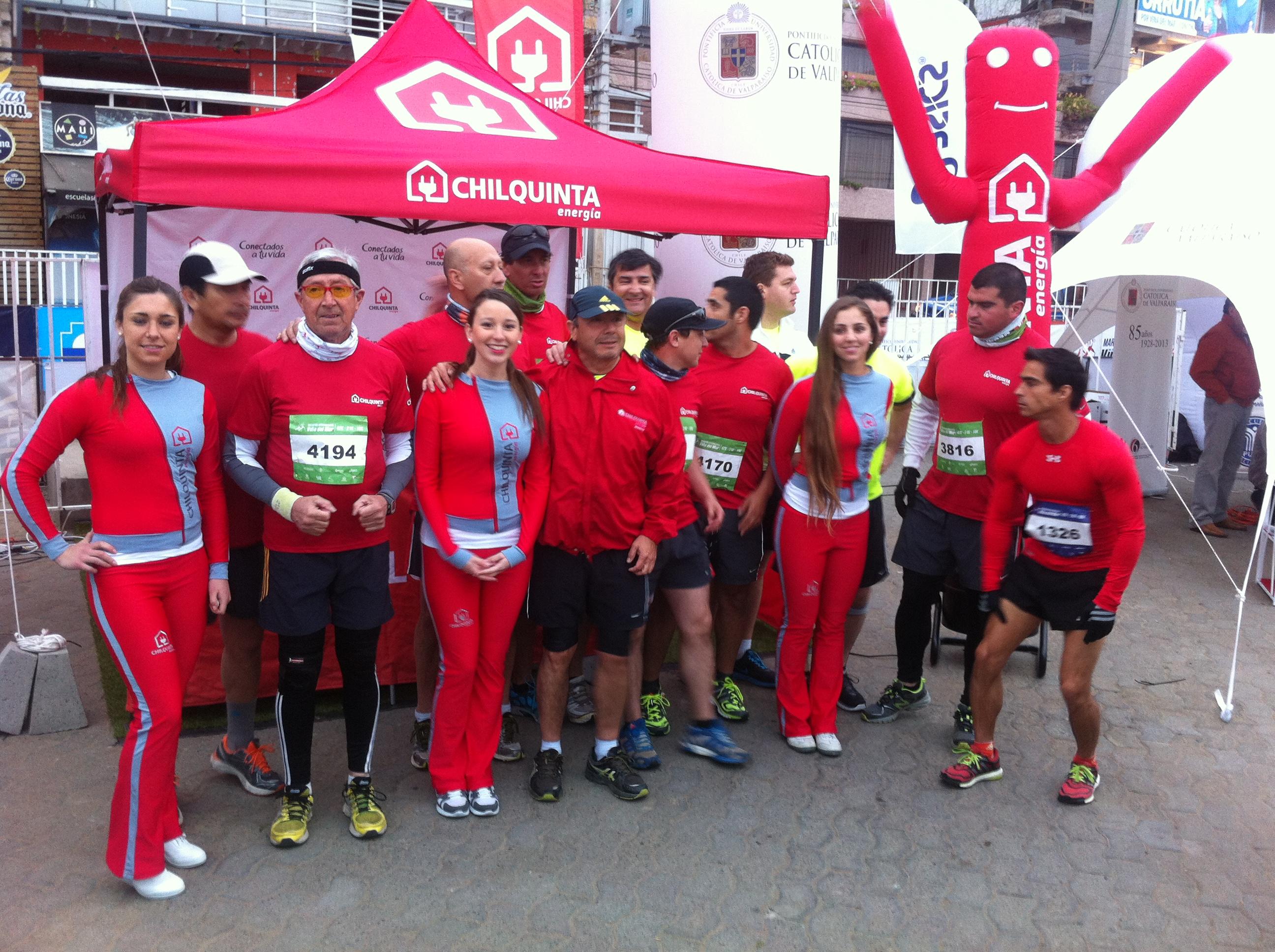 Activación Full Maraton Chilquinta