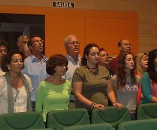 Inauguración Auditorio de Tomares. Prueba de Voz