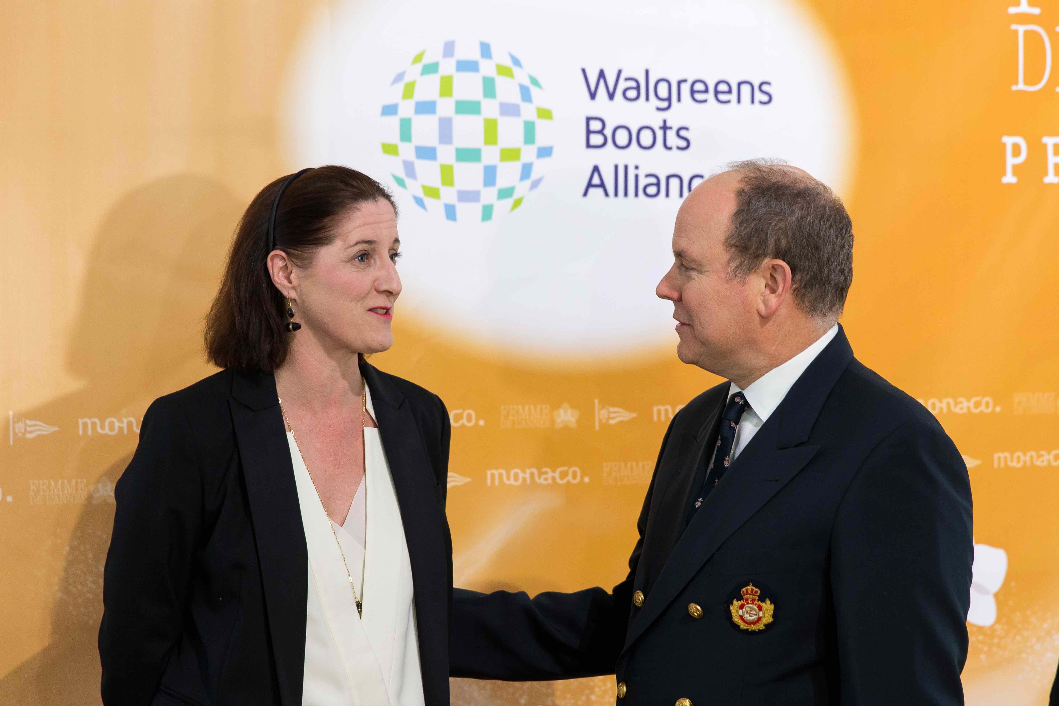 Lisa Harrington-Prince Albert II