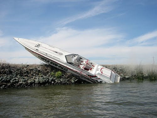 A boat accident resulting in the need for a boat accident lawyer in New Jersey