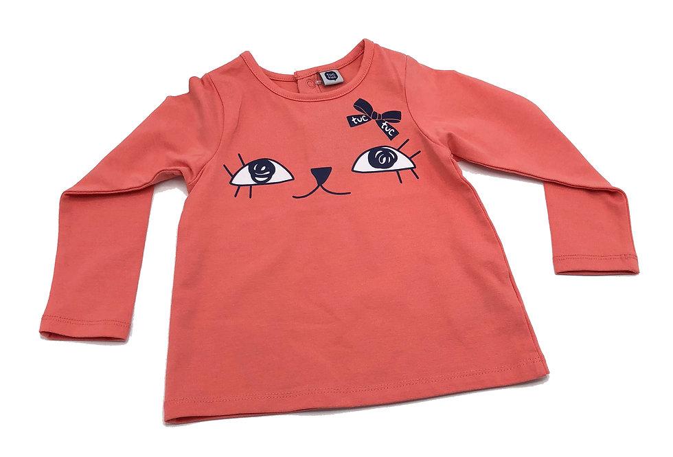 Tuc Tuc -Camiseta Lacito Niña F.Rain
