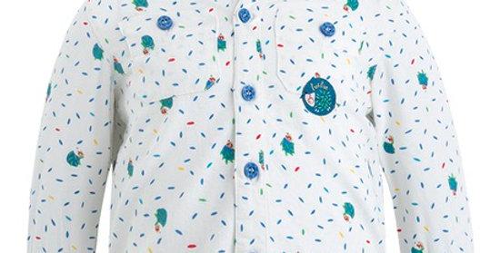 CARACOLA KIDS - Camisa Sarga