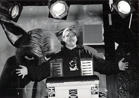 SuperKenn on Stage @ Satyricon 2000
