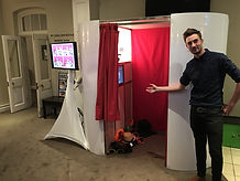 Photobooth at Warbrook House