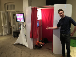 Photo booth at Warbrook House