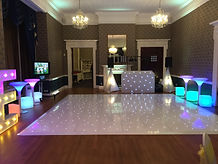 Dance Floor hire at Easthampstead Park in Berkshire