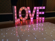Led Love Letters in berkshire