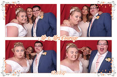 Photo Booth phoot from a photo booth hire at Rivervale Barn in Yateley