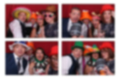 Malcolm & Teresa's Photo Booth Gallery from wedding at Easthampstead Park in Berkshire