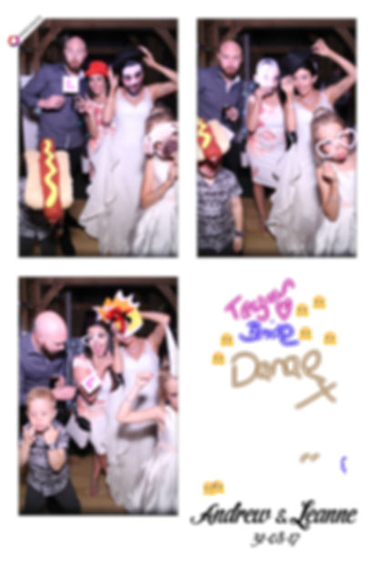 Andrew & Leanne's Magic Mirror Photo Booth Gallery from Rivervale Barn