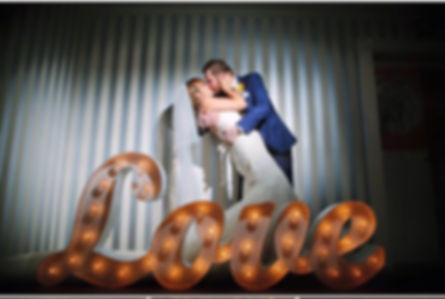 LED Joined Up LOVE Sign for hire