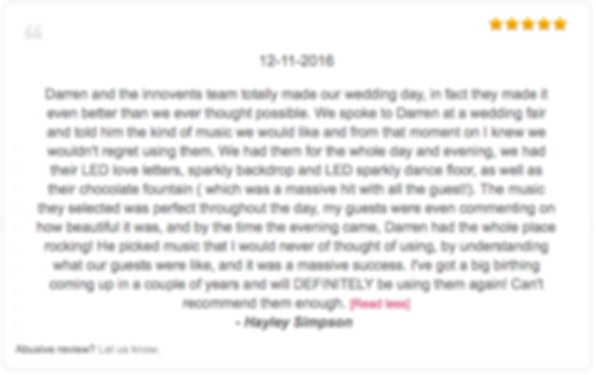 Innovents review from Hayley Simpson