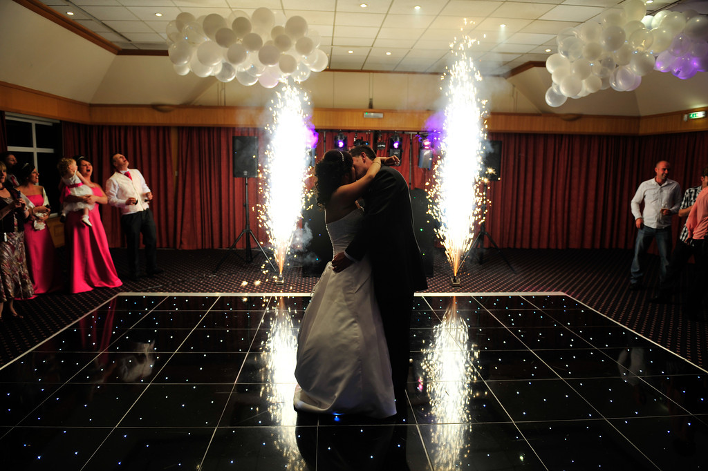 First dance with special effects
