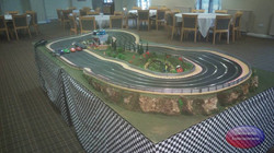 4 lane Scalextric track