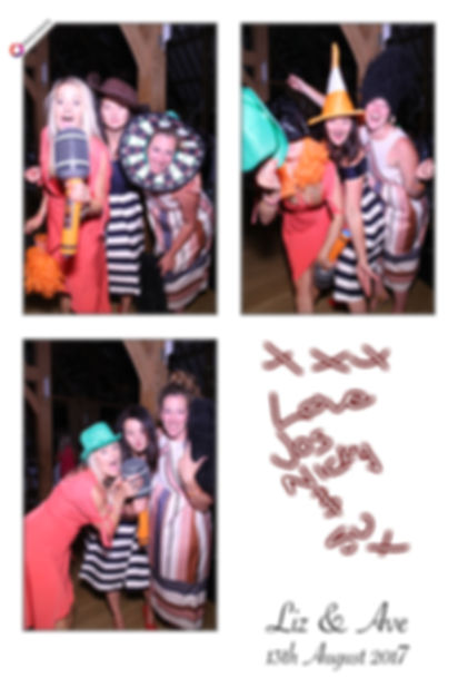 Ave and Liz's Magic Mirror Photo Booth Gallery from Rivervale Barn