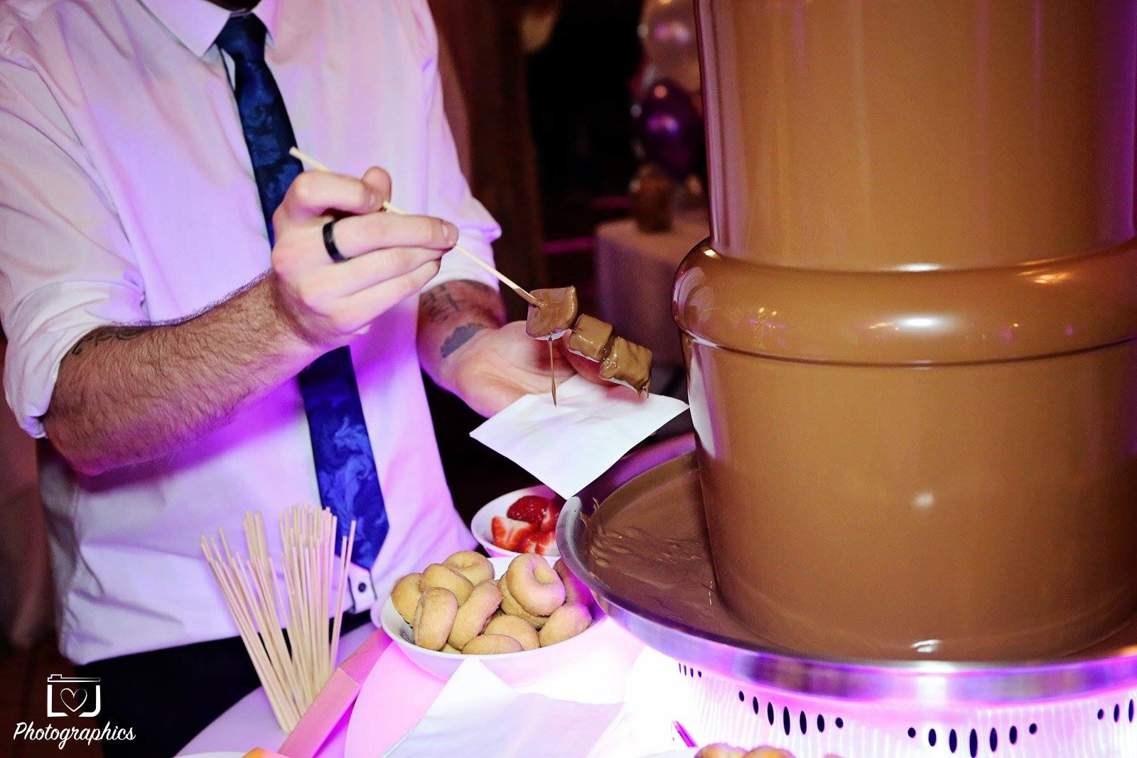 Chocolate fountain hire in Berkshire