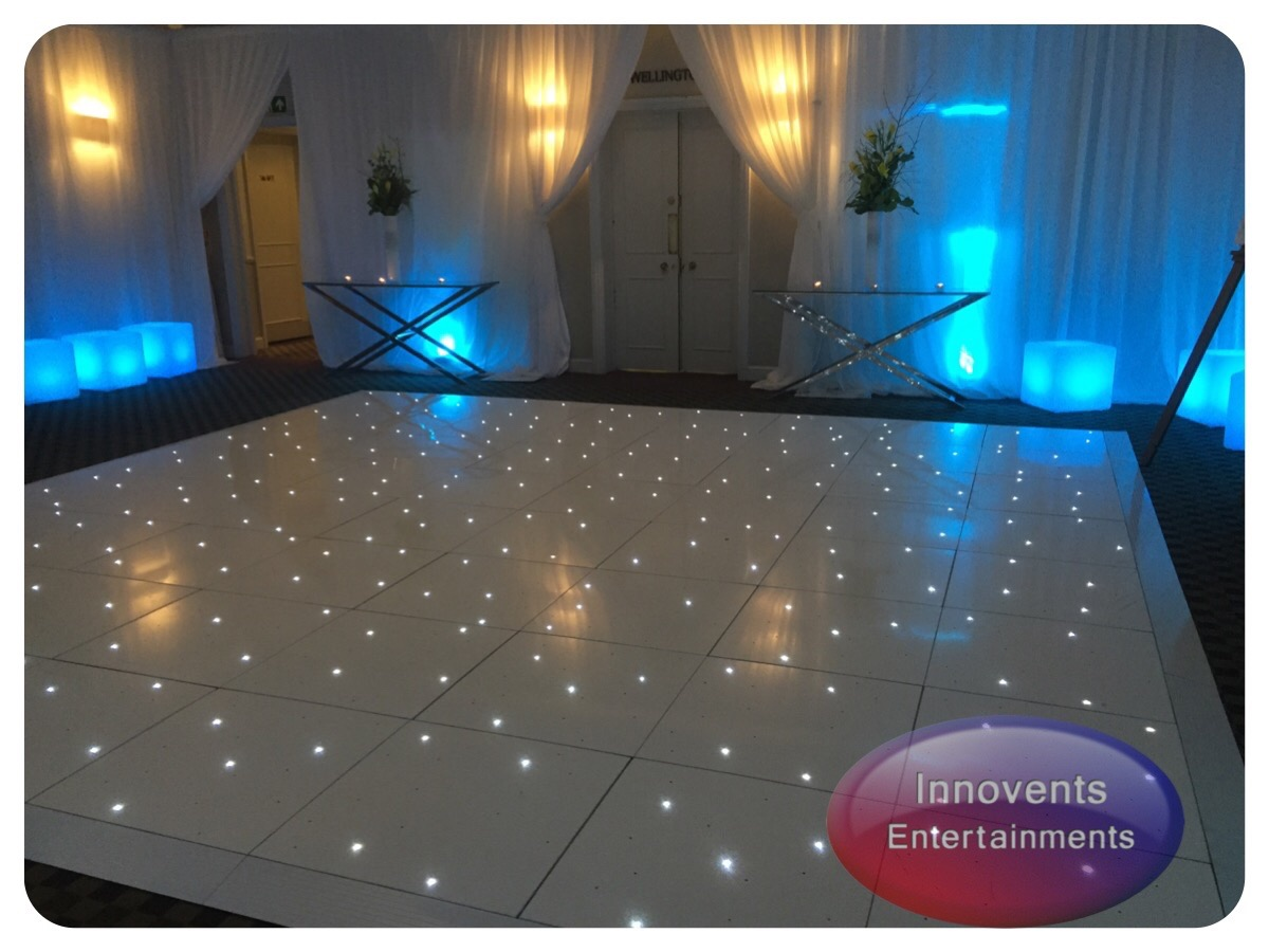 White led dance floor