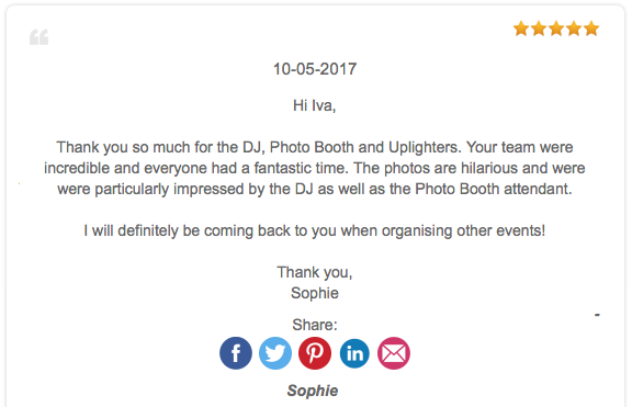 Photo booth review