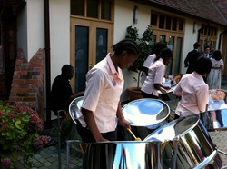 Steel Band at Rivervale Barn