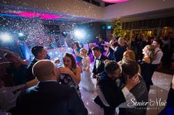 Wedding disco at Warbrook House