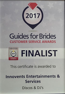 Guides for brides award 2017