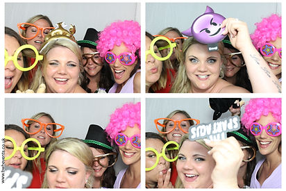 Mel & Ollie Photo Booth Gallery from wedding at Easthampstead Park in Berkshire