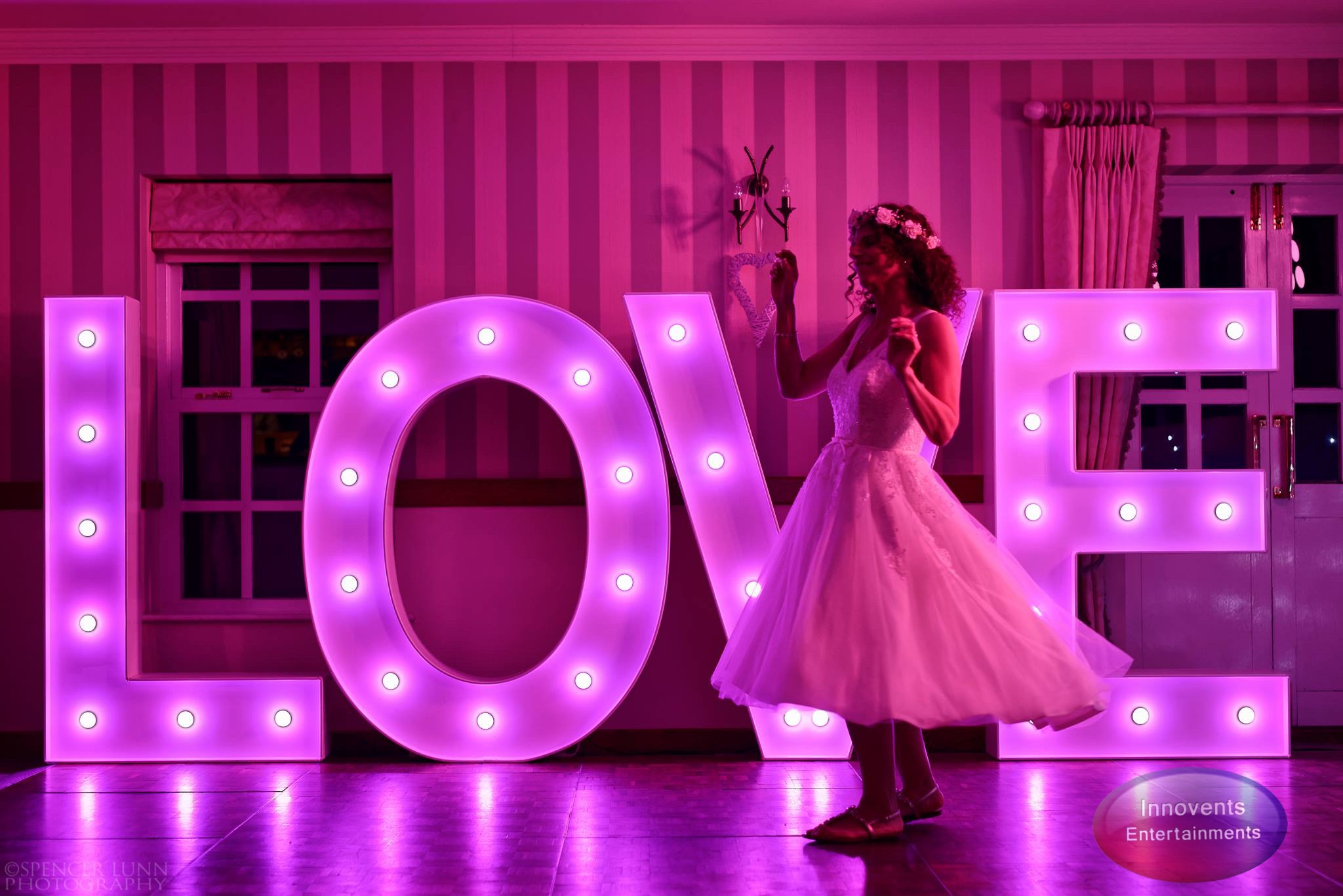 Led LOVE Letters