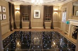 Gorse Hill led dance floor hire