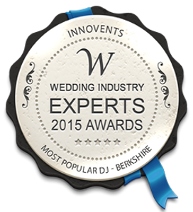 Wedding Indusrty Expert 2015 awards