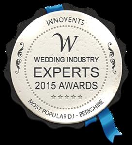 Wedding Indusrty Expert 2015 awards