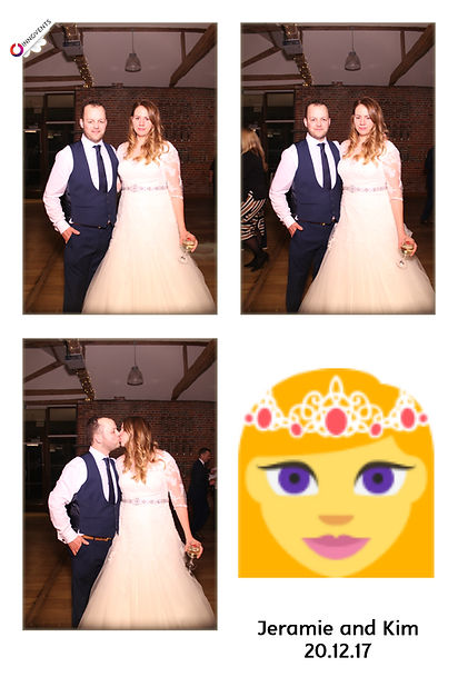 Jeramie and Kims Photo Booth Gallery from wedding at Wasing Park in Berkshire