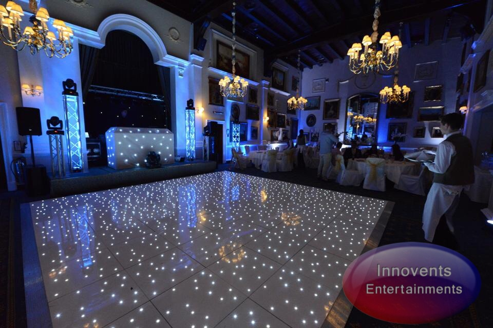 White led dance floor - Wentworth
