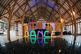 LED DANCE LETTERS for hire