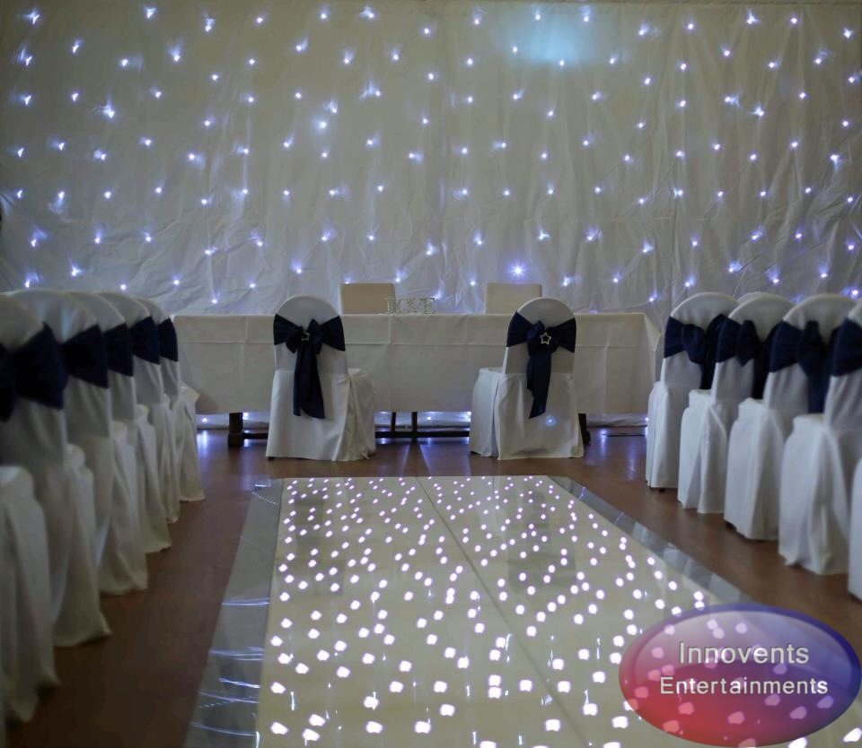 Ceremony Aisle and Backdrop