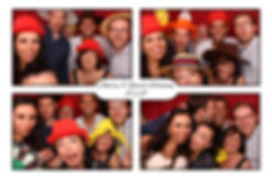 Andrew and Yasel's Photo Booth Gallery from wedding at Easthampstead Park in Berkshire