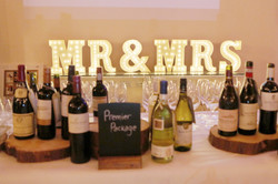 Marquee letters - Mr & Mrs