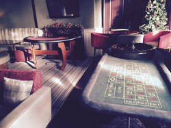 Casino tables at Easthampstead Park