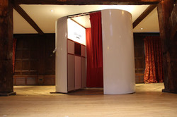 Photo booth at Ufton Court