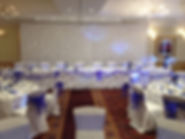 Wedding backdrop for hire at a wedding in Berkshire