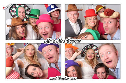 Ian and Helen's Photo Booth Gallery from wedding at Easthampstead Park in Berkshire
