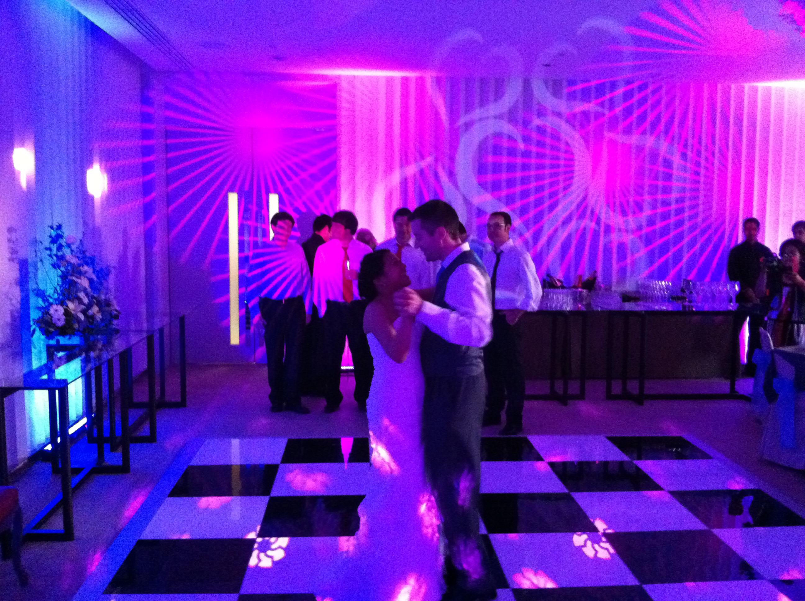Uplighting at Coworth Park