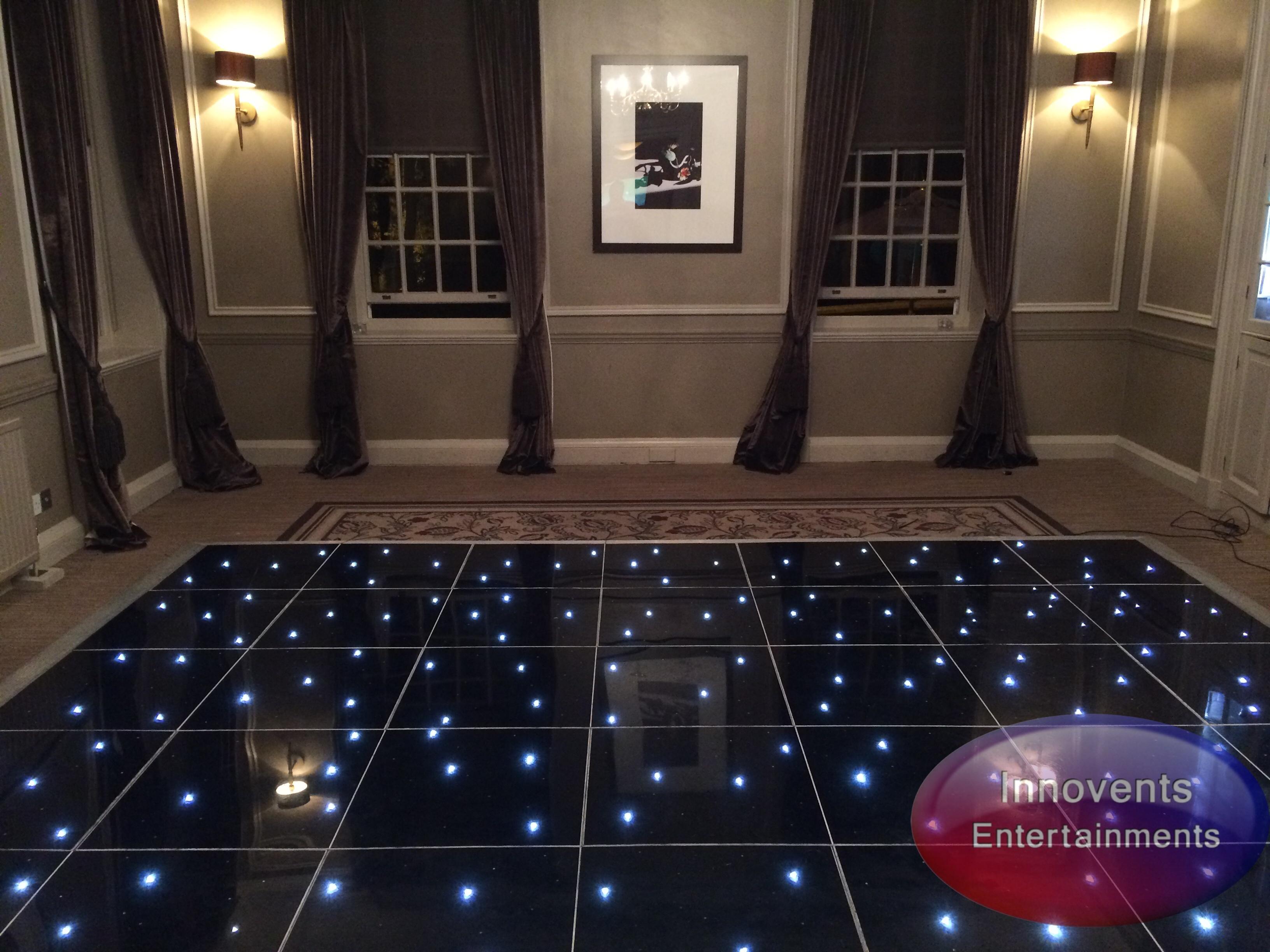 Black led dance floor - Gorse Hill