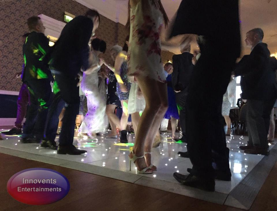 led dance floor in Berkshire
