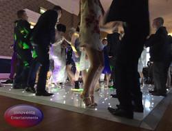 led dance floor in Berkshire