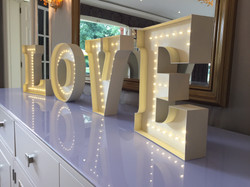 3D Letters - LOVE